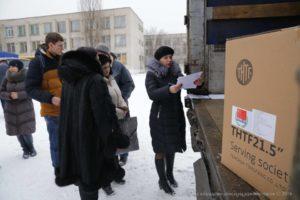 Загальноосвітні школи Луганщини отримали 397 комп'ютерів відповідно до угоди між урядами КНР і України