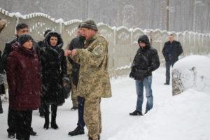 Візит Першого заступника Голови Верховної Ради України Ірини Геращенко до Луганського кадетського корпусу