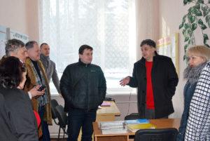Робоча поїздка до Новопсковського району