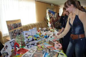 Освітянська виставка в Старобільському районі