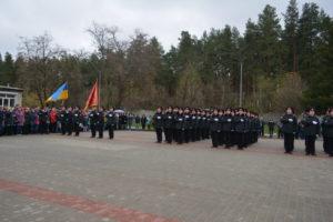 Ліцеїсти обласного Кадетського корпусувідзначили 24-у річницю з дня заснуваннянавчального закладу