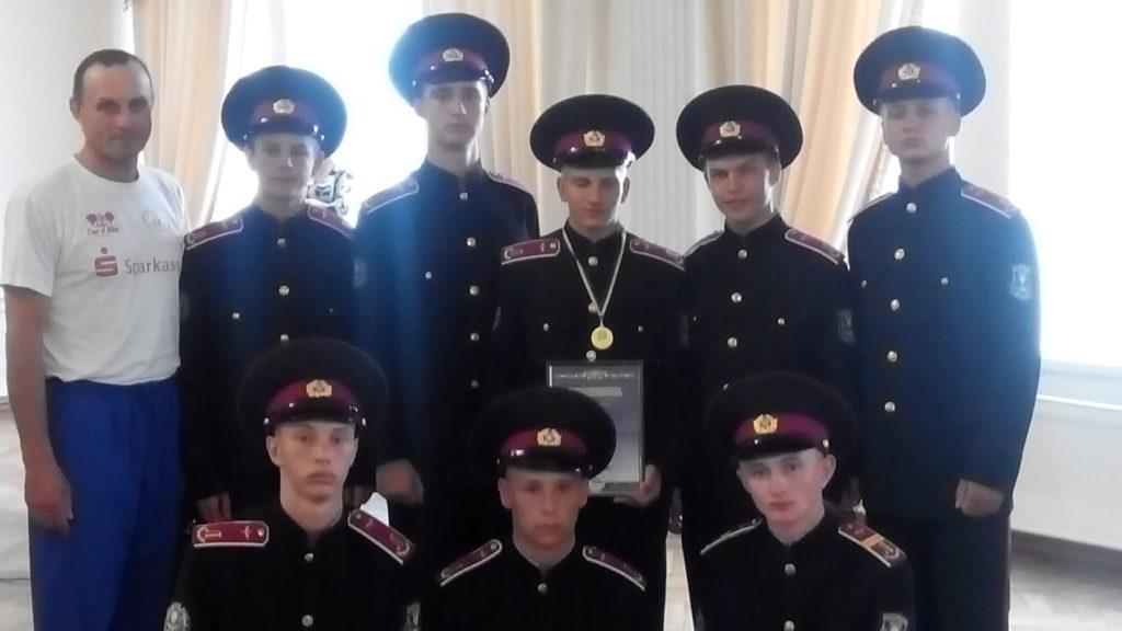 Луганський обласний військовий ліцейпривіз «золото» зі Всеукраїнської спартакіади