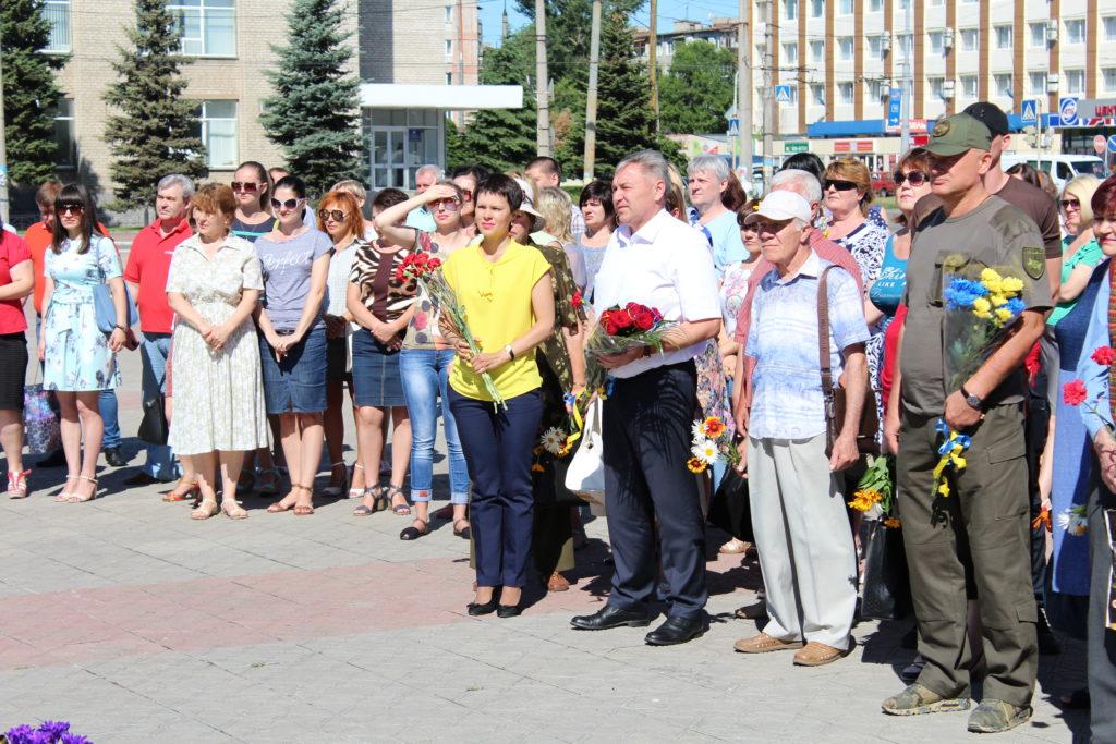 22 червня у м. Сєвєродонецьку відбувся мітинг-реквієм до Дня скорботи і вшанування пам'яті жертв війни в Україні