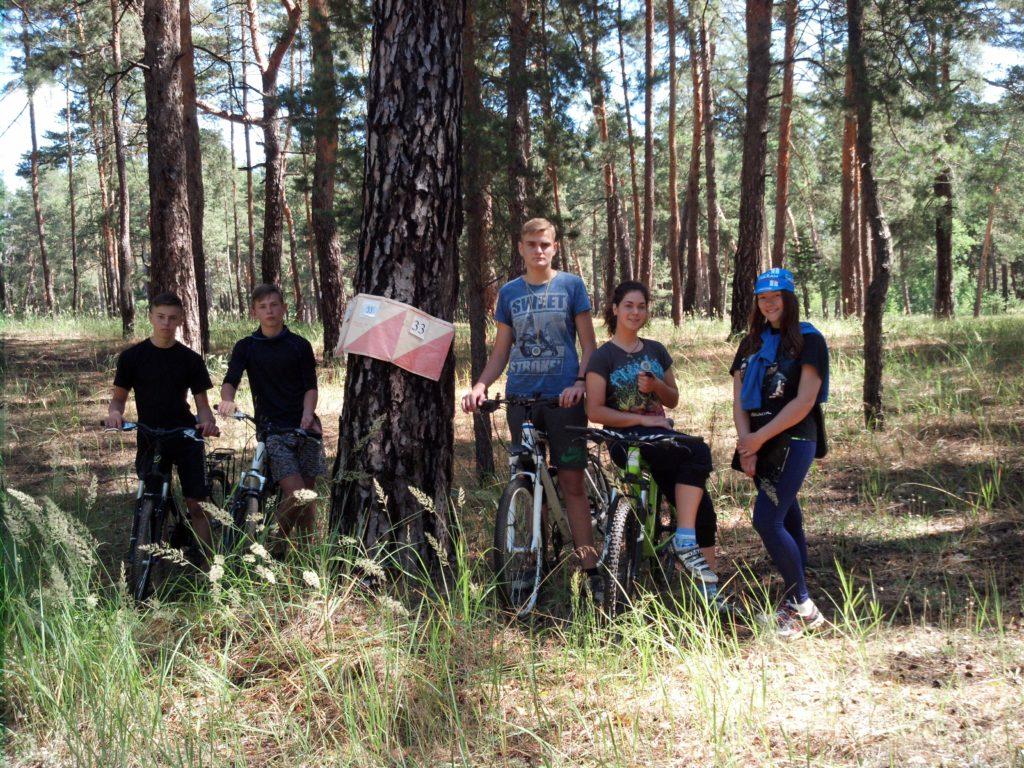 Навчально-тренувальні збори з велосипедного туризму