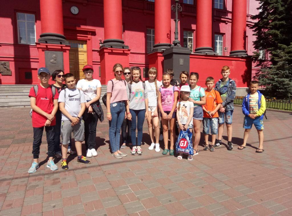 Візит учнів Луганської області до Республіки Польща