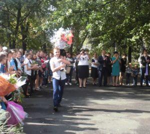 Свято Першого дзвоника у навчальних закладах Міловського району