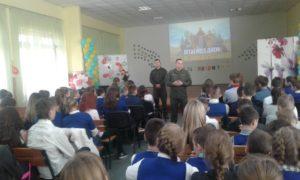 Зустрічі колективу КЗ «НВК «Гарант» з офіцерами Національної гвардії