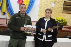 Представники Національної гвардії України відвідали СЗШ № 18 м. Сєвєродонецька