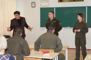 Відбулася нарада Департаменту освіти і науки облдержадміністрації з представниками Національної гвардії України