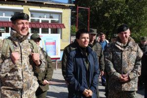 Представники Міністерства оборони Латвійської Республіки відвідали Луганський обласний військовий ліцей