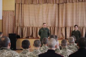 Представники Національної гвардії України зустрілись з обласними кадетами у Кремінній.