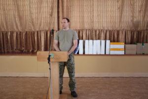 Голова Служби зовнішньої розвідки України Єгор Божок: «Любіть Україну, ставте амбітні цілі, досягайте своєї мети!»