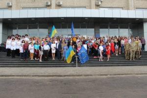 У Сєвєроонецьку відбулися обласні урочисті заходи з нагоди відзначення Дня Європи
