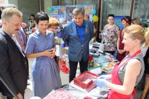 Виставка-презентація до 80-річчя Луганської області«Наш труд і творчість тобі, рідна Луганщино!»