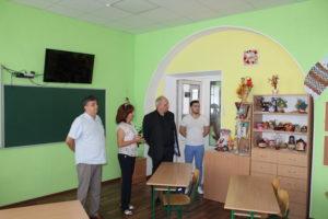 Візит заступника Міністра освіти і науки України Павло Хобзея до Попаснянського району