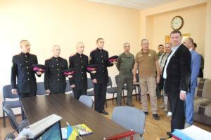Посол та військовий аташе Латвійської Республіки зустрілись з військовими ліцеїстами.