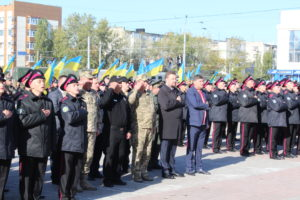 В області відбуваються урочистості до Дня захисника України