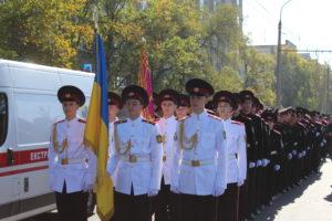 110 хлопців склали урочисту клятву ліцеїста кадетського корпусу імені героїв Молодої гвардії