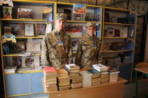 Тривають спільні заходи Луганського обласного військового ліцеюз представниками Національної гвардії України