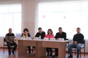 Відкритий захист проектів, поданих на конкурс освітнього обміну між Луганською та Львівською областями, на реалізацію яких виділяються кошти з обласного бюджету