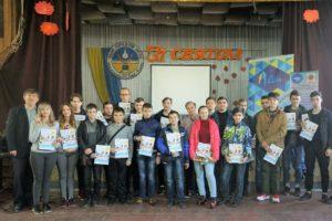 Слухачі Луганської обласної малої академії наук взяли участь у заходах в рамках ініціативи Meet and Code в Рубіжному