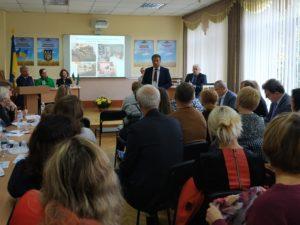 Делегація Луганської області взяла участь у регіональному семінарі-практикумі за темою «Історія України ХХ століття:виховний потенціал історичної правди»