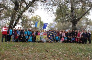 Відбувся Чемпіонат Луганської області з пішохідного туризму серед учнівської молоді