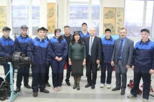Відкриття навчально-практичного центру з професії «Слюсар» у ДНЗ «Сєвєродонецьке вище професійне училище»