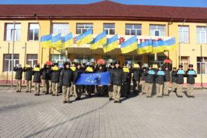 День Гідності та Свободи відзначили військові ліцеїсти