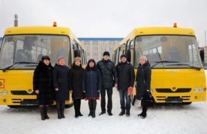 Для шкіл Марківського та Станично-Луганського районів придбано шкільні автобуси